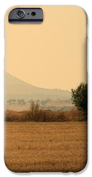 hay rolls  iPhone Case by Stylianos Kleanthous