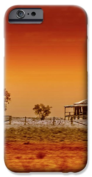 Hazy Days iPhone Case by Holly Kempe