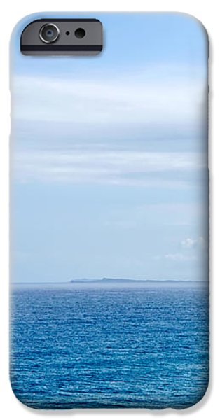 Hazy Ocean View iPhone Case by Kaye Menner