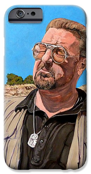 He Was One Of Us iPhone Case by Tom Roderick
