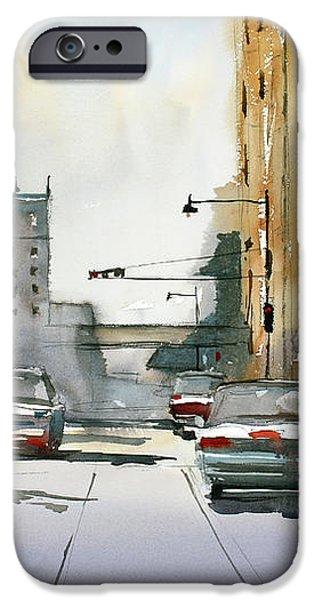 Heading West on College Avenue - Appleton iPhone Case by Ryan Radke