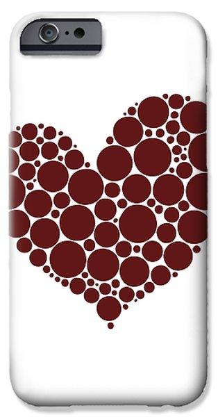 Heart iPhone Case by Frank Tschakert