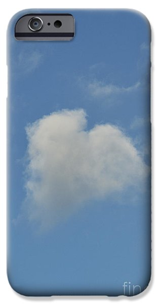 Nature Divine iPhone Cases - Heart In The Sky iPhone Case by Tim Gainey