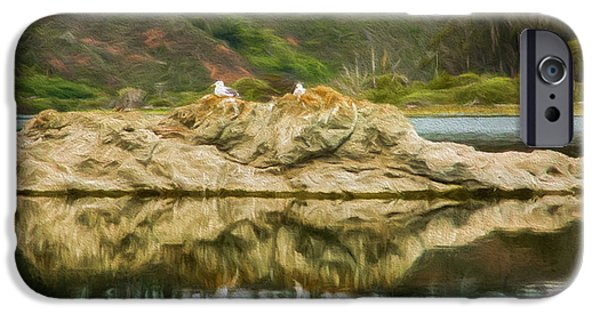 Shed iPhone Cases - Heart Rock iPhone Case by Jacque The Muse Photography