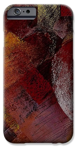 Hearts iPhone Case by David Patterson