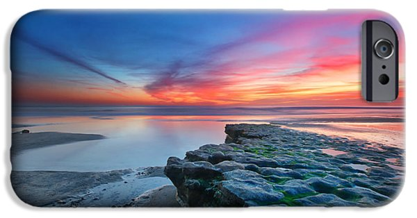 Exposure iPhone Cases - Heaven and Earth iPhone Case by Larry Marshall