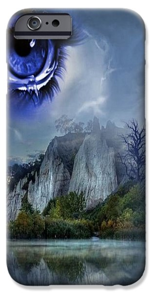 Torn iPhone Cases - Heavens Tears iPhone Case by G Berry