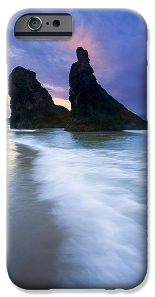 Face Photographs iPhone Cases - Heavenly Halo iPhone Case by Mike  Dawson