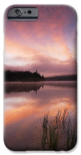 Mist iPhone Cases - Heavenly Skies iPhone Case by Mike  Dawson