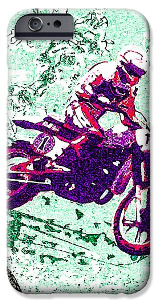 Torn iPhone Cases - Heikki Mikkola iPhone Case by Lanjee Chee