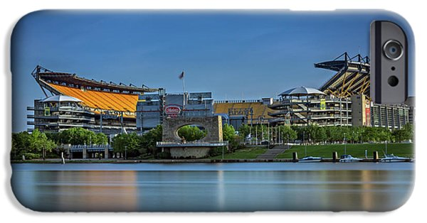 Heinz iPhone Cases - Heinz Field iPhone Case by Rick Berk