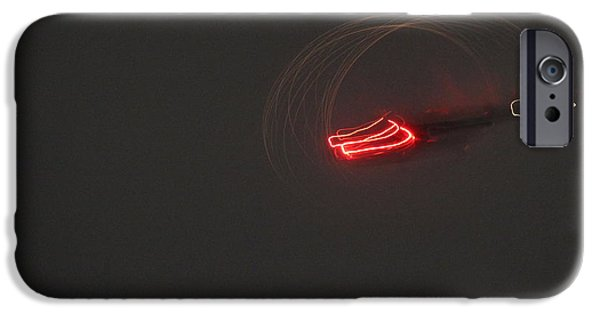 Painter Photographs iPhone Cases - Helicopter abstract iPhone Case by Andrew Wijesuriya