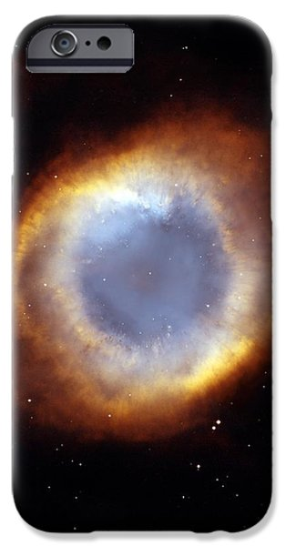 Helix Nebula, Hst Image iPhone Case by Nasaesastscit.rector, Nrao
