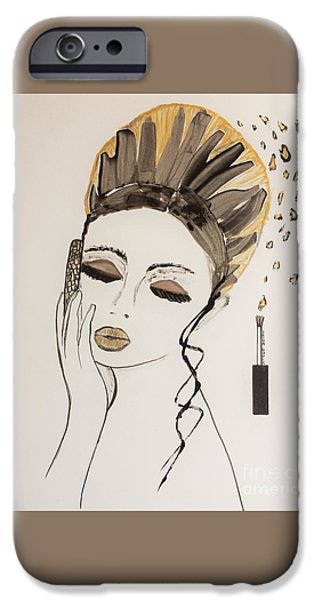 Model iPhone Cases - Hello Darling iPhone Case by Jasna Gopic
