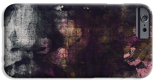 Lips iPhone Cases - Hendrix Retro iPhone Case by Paul Lovering