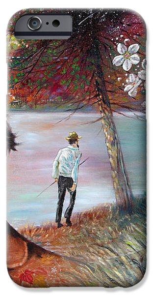 Henry David Thoreau iPhone Case by John Lautermilch