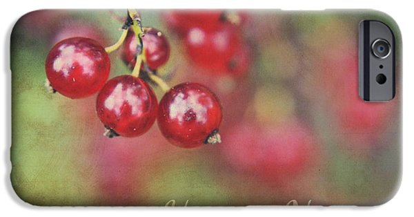 Berry Digital iPhone Cases - Here ... Now ... iPhone Case by Aimelle ML