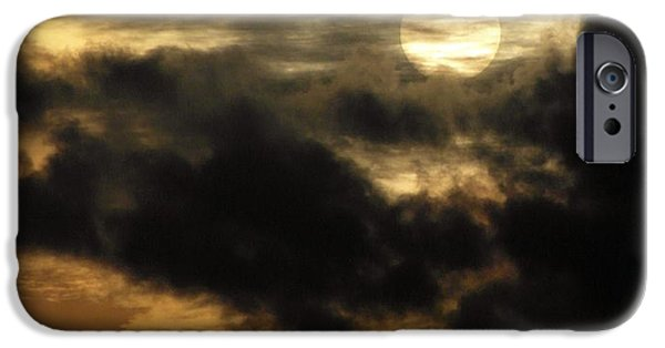 Sun Breaking Through Clouds iPhone Cases - Here Comes the Sun iPhone Case by Ian Scholan