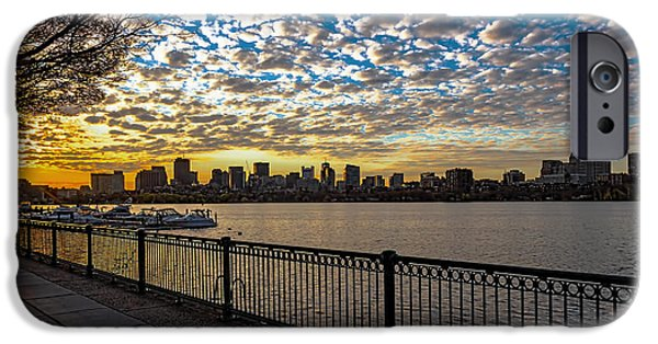 Boston Ma iPhone Cases - Here comes the Sun iPhone Case by Larry  Richardson
