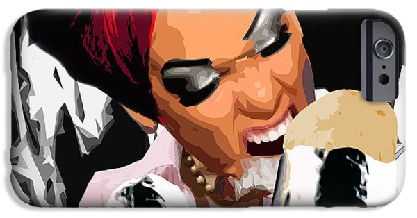 Design iPhone Cases - Herrito iPhone Case by Moxxy Simmons