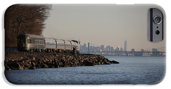 Hudson River iPhone Cases - Hickory Creek iPhone Case by Vincent Gong