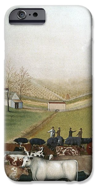 HICKS: CORNELL FARM, 1848 iPhone Case by Granger