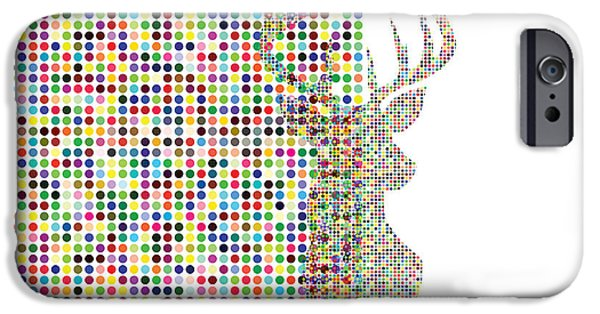 Youthful iPhone Cases - Hidden Deer iPhone Case by Brian  Kirchner