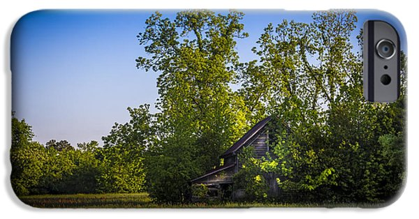 Barns iPhone Cases - Hidden Treasures iPhone Case by Marvin Spates