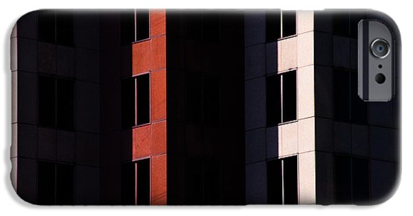 Abtracts iPhone Cases - Hidden Windows iPhone Case by Karol  Livote