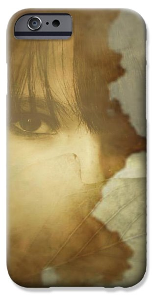 Gina Lee Manley iPhone Cases - Hiding iPhone Case by Gina Lee Manley