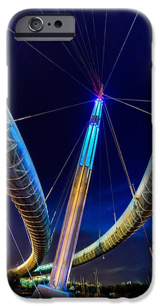 July iPhone Cases - High Tension iPhone Case by Randy Scherkenbach