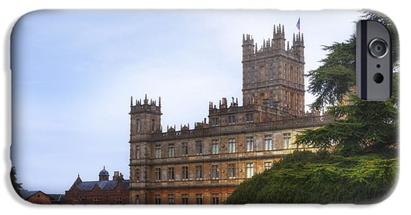 Mansion iPhone Cases - Highclere Castle iPhone Case by Joana Kruse
