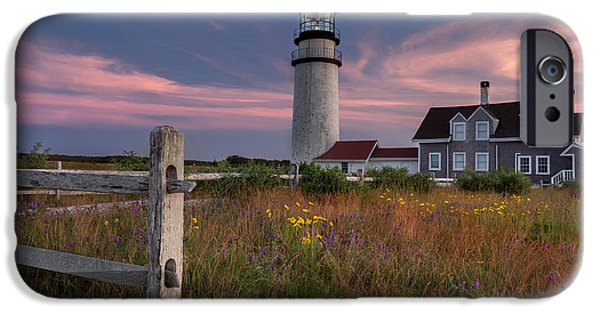 New England Lighthouse iPhone Cases - Highland Light 2015 iPhone Case by Bill Wakeley