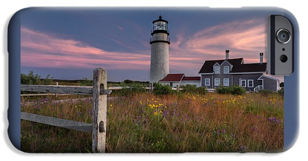 New England Lighthouse iPhone Cases - Highland Light Cape Cod 2015 iPhone Case by Bill Wakeley
