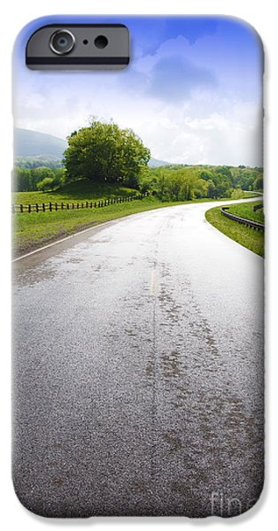 Highland Scenic Highway Route 150 iPhone Case by Thomas R Fletcher