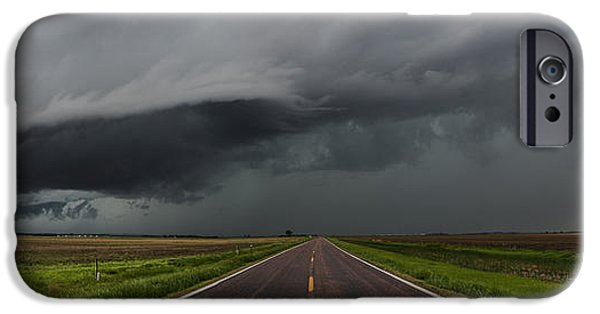 Fury iPhone Cases - Highway 18 iPhone Case by Aaron J Groen