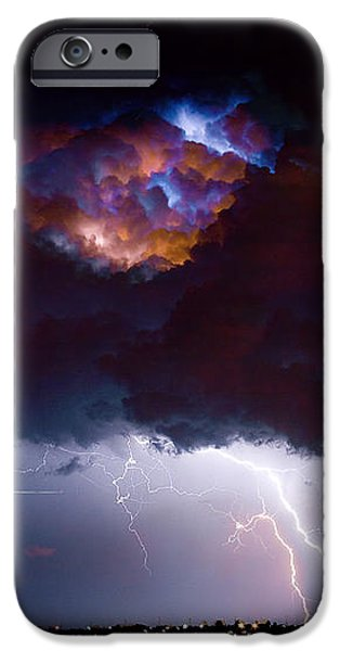 Highway 52 Thunderhead Lightning Cell iPhone Case by James BO  Insogna