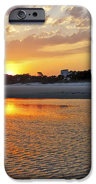 Hilton Head Beach iPhone Case by Phill  Doherty
