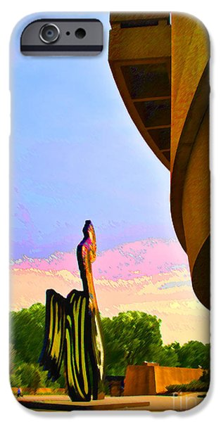 Smithsonian iPhone Cases - Hirshhorn Sky iPhone Case by Jost Houk