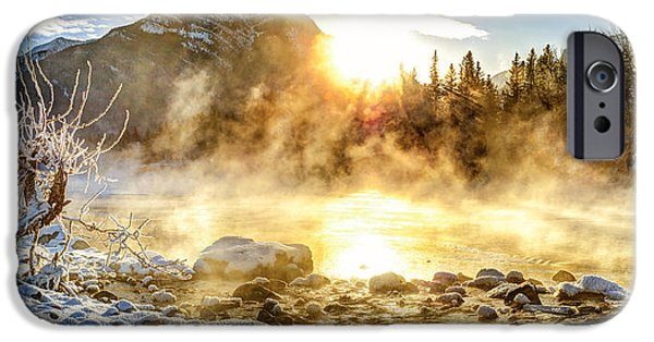 Fog Mist iPhone Cases - His Majesty iPhone Case by Michael Ritz