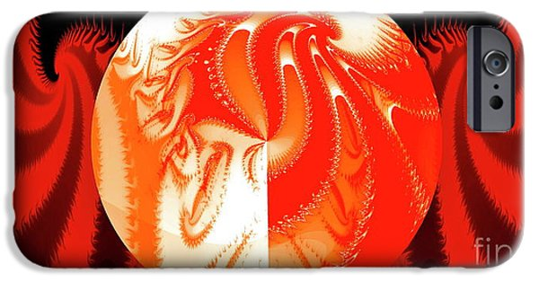 Thoreau iPhone Cases - His Shadow iPhone Case by Gwyn Newcombe