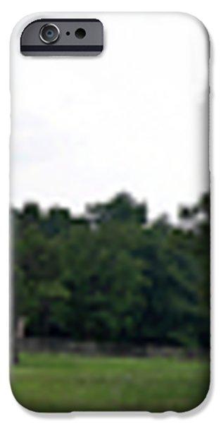 Historic Appomattox Panorama  iPhone Case by Teresa Mucha