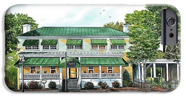 Historic Site iPhone Cases - Historic Smithfield Inn iPhone Case by Raymond Edmonds
