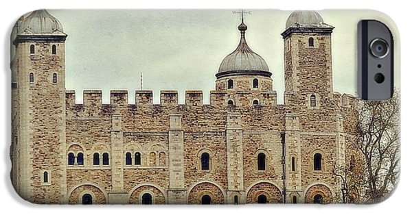 Historic Site iPhone Cases - Historic Tower of London iPhone Case by Toni Abdnour