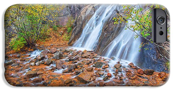 Historic Site iPhone Cases - Historic Waterfall iPhone Case by Bijan Pirnia