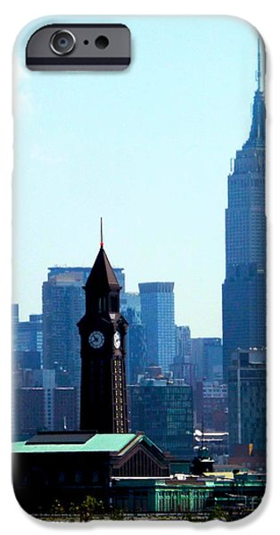 Recently Sold -  - Empire State iPhone Cases - Hoboken and New York iPhone Case by James Aiken