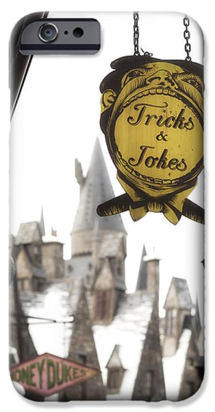Hogwarts iPhone Cases - Hogsmeade iPhone Case by Noah Bryant