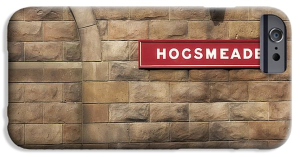 Hogwarts iPhone Cases - Hogsmeade Station iPhone Case by Noah Bryant