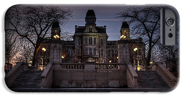 Carrier iPhone Cases - Hogwarts - Hall of Languages iPhone Case by Everet Regal