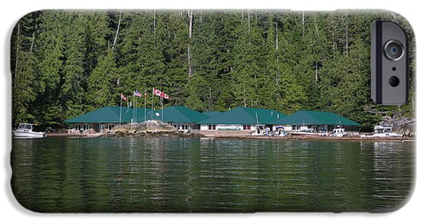 Hoiss Point Lodge #2 iPhone Case by Nootka Sound